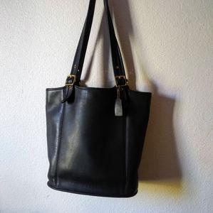 Black Vintage 9090 Coach Bag